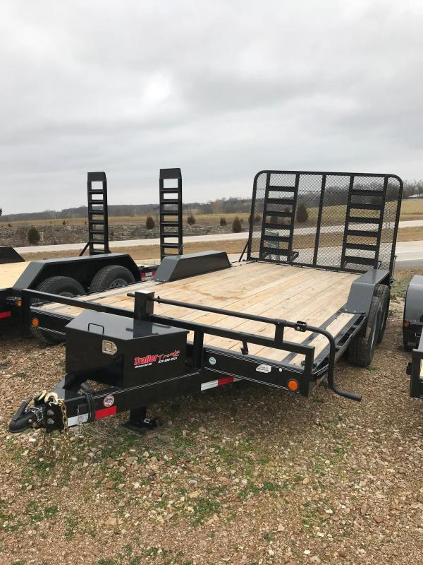 "2018 Load Trail CH102X16 Flatbed Trailer 102"" X 16"