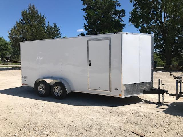 2018 Stealth Trailers 7 X 16 MUSTANG SERIES Enclosed Cargo Trailer 7K GVW SIDE/RAMP DOOR 6