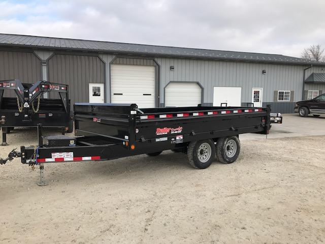 2018 Load Trail 96X14 DZ DECKOVER Dump Trailer