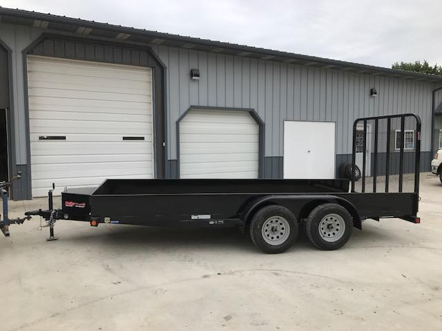 2018 Load Trail 77X16 US SOLID SIDE TANDEM AXLE Utility Trailer