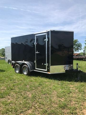 "2018 Stealth Trailers 64600 Enclosed Cargo Trailer 7"" X 12"