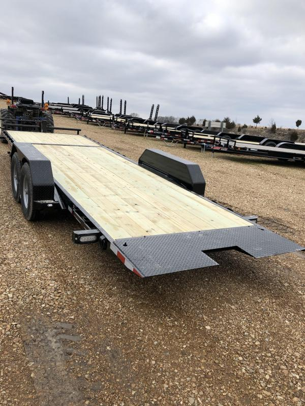 2019 Doolittle Trailer Mfg 82X24 EZ LOADER GT TILT TRAILER
