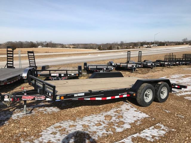 2018 Load Trail 83x18 CH 10K SLIDE IN RAMPS Car / Racing Trailer