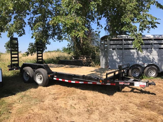 "2017 Load Trail CH8318 Equipment Trailer 83"" X 18"