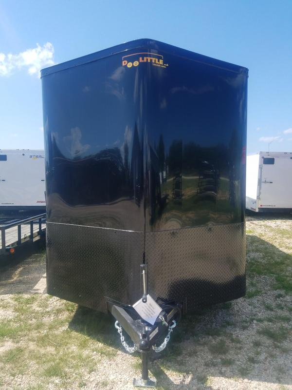 2020 Doolittle Trailer Mfg 7X16 DOOLITTLE RV LATCH BLACK OUT PACKAGE Enclosed Cargo Trailer