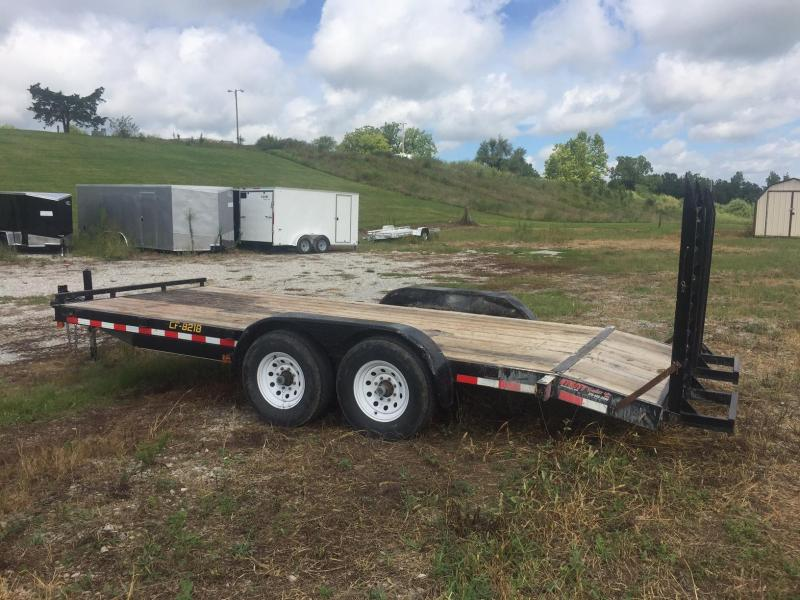 2015 Doolittle Trailer Mfg 8218 14k Equipment Trailer
