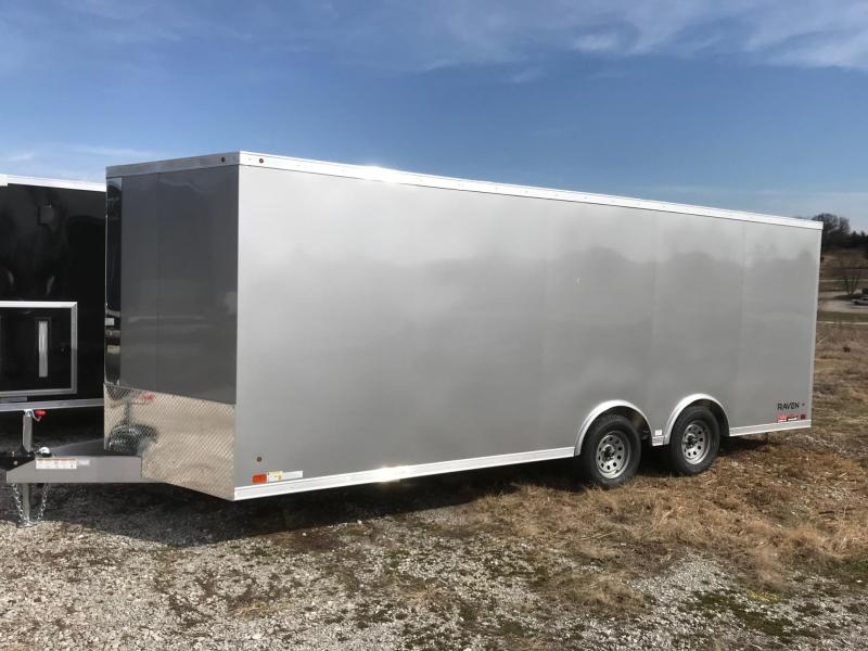 2018 Aluminum Trailer Company 8.5X202 ALL ALUMINUM FRAME CAR HAULER Enclosed Cargo Trailer