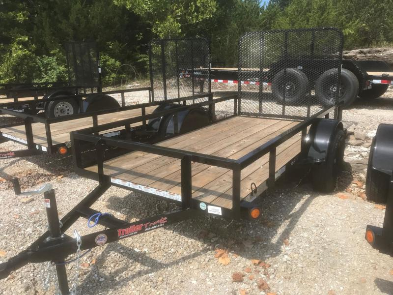 2018 Load Trail 5X10 SE SINGLE AXLE Utility Trailer