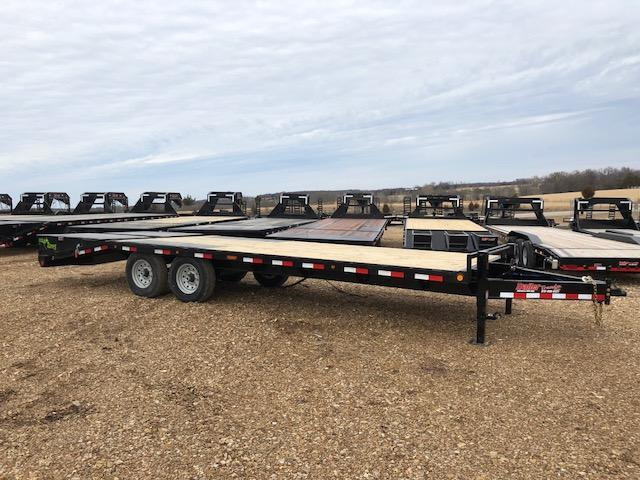 2018 Load Trail 102X24 PS BUMPER PULL DECKOVER Flatbed Trailer