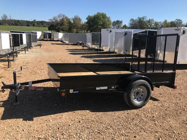 2018 Load Trail 77X10SS SOLID SIDE Utility Trailer
