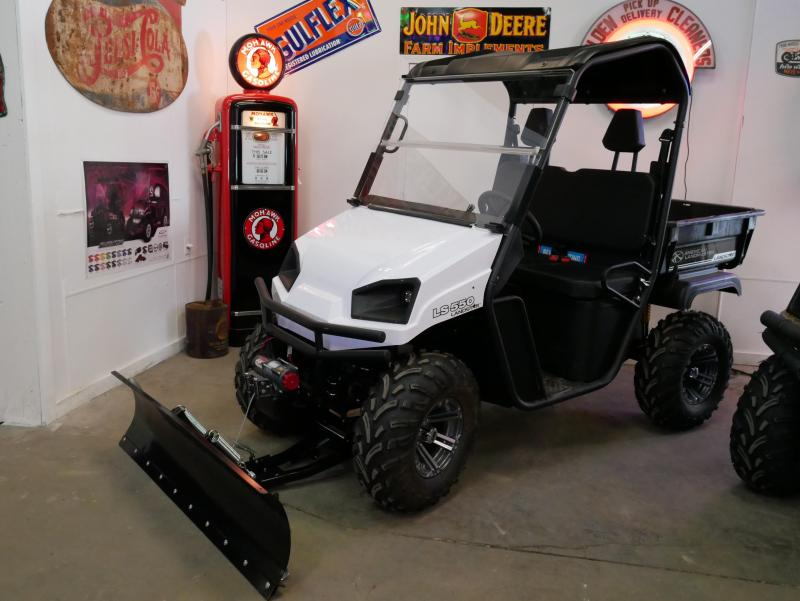 2017 American Land Master LS550 Utility Side-by-Side Glacier Edition