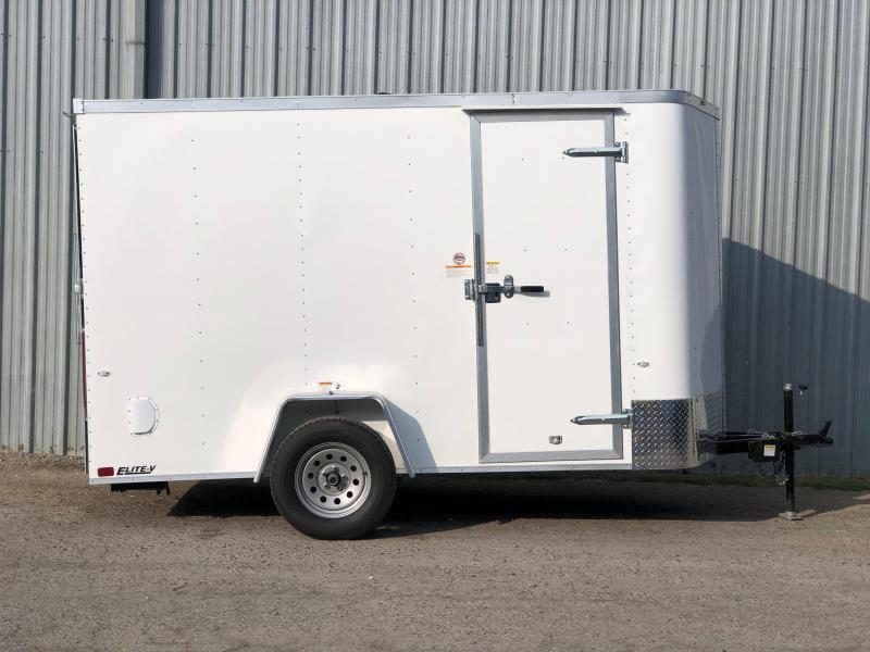 2019 Cargo Craft 3K Single Axle Enclosed Cargo Trailer