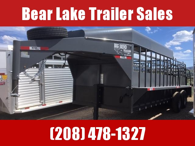 2019 Big Bend 3/4 Top Stock Livestock Trailer