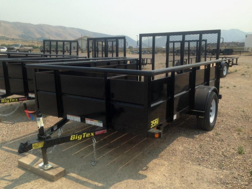 2017 Big Tex  35SV-10 Utility Trailer
