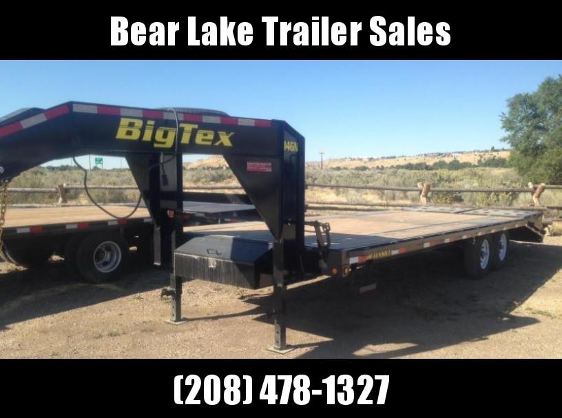 2017 Big Tex 14GN-20MR Flatbed Trailer
