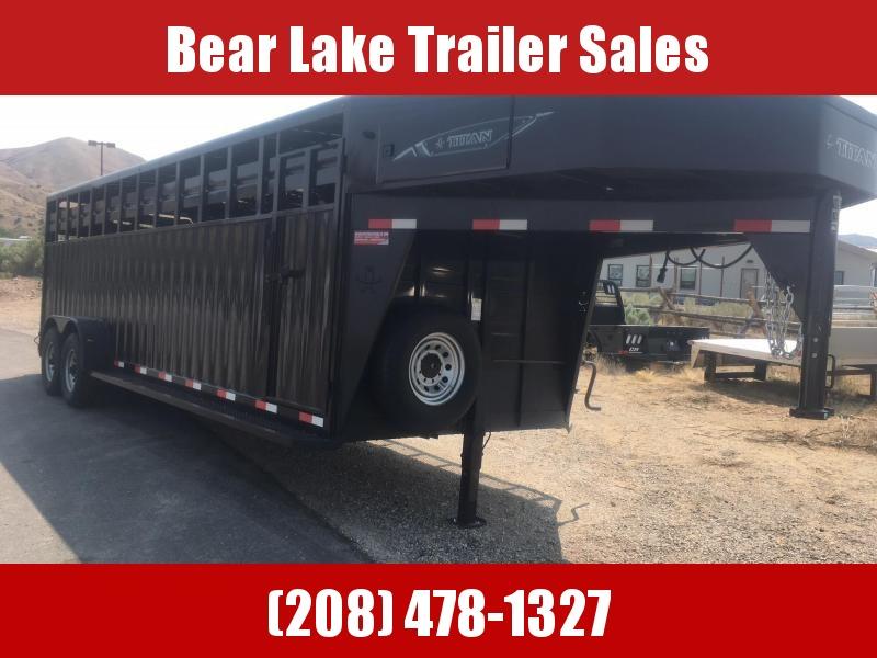 2018 Titan Rancher Livestock Trailer