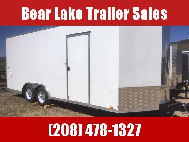 2017 Look Trailers Car Hauler Enclosed Cargo Trailer