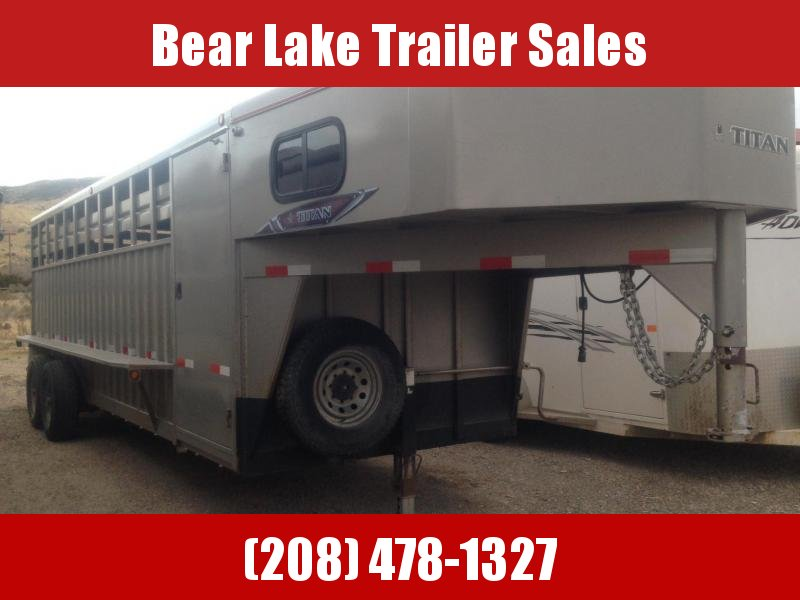 2013 Titan Rancher Stock Combo Trailer