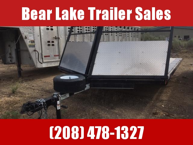 2016 Innovative Trailer Mfg. 2 Place Sled trailer Snowmobile Trailer