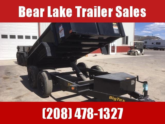 2019 Big Tex Trailers 70SR-10-5 Dump Trailer