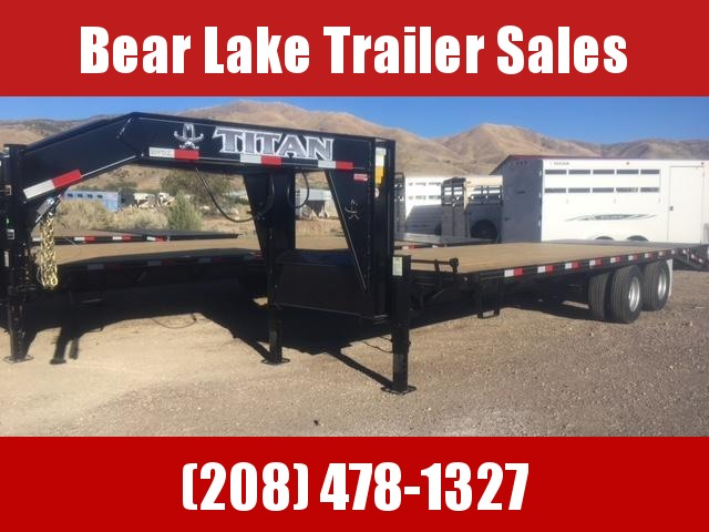 2019 Titan 20k Wide Glide Flatbed Trailer