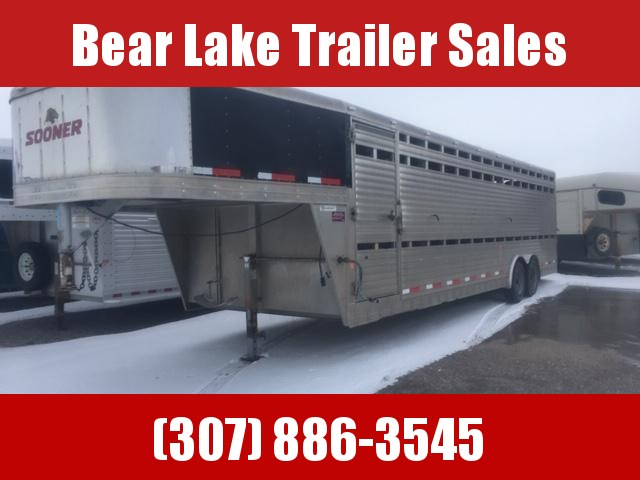 2014 Sooner 28' Stock Trailer