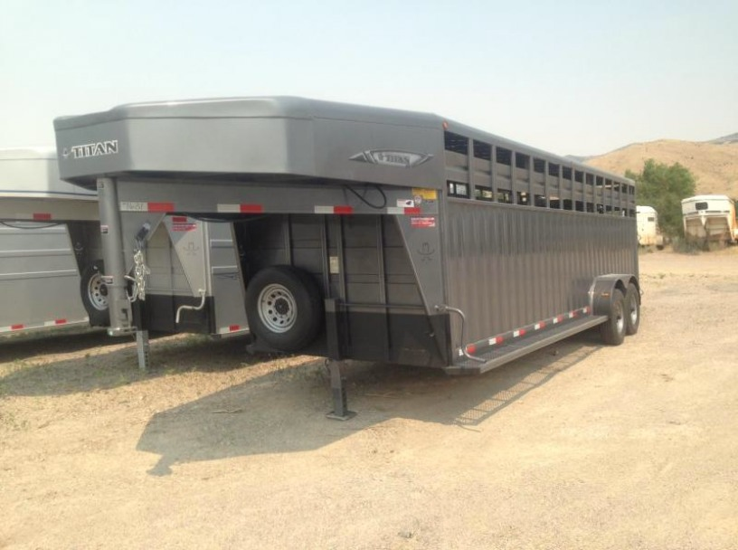 2017 Titan Rancher Stock Trailer