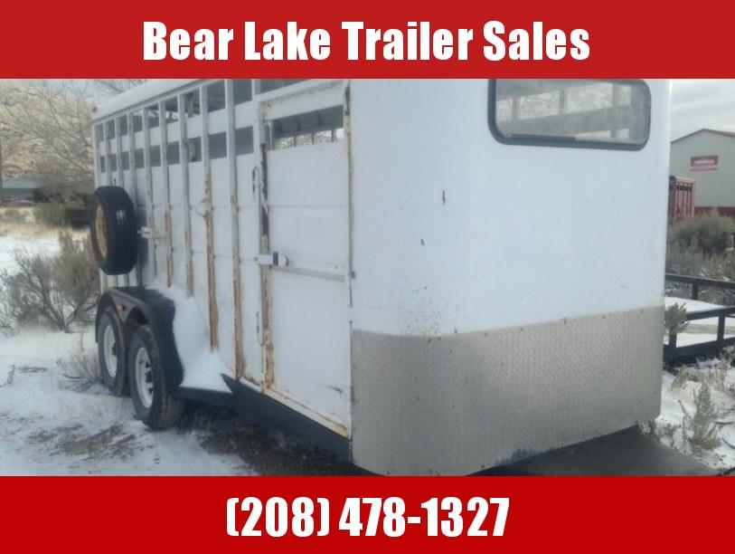 1996 Charmac Livestock Trailer