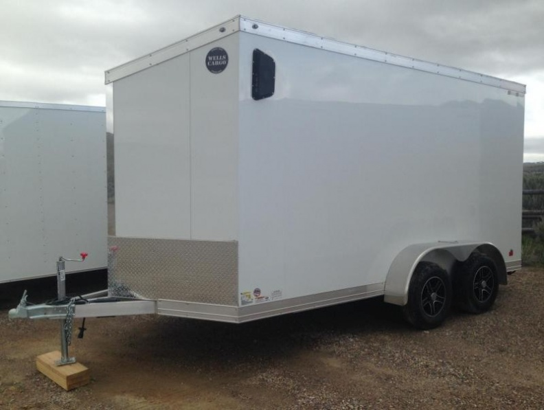 2017 Wells Cargo Aluminum Enclosed Trailer