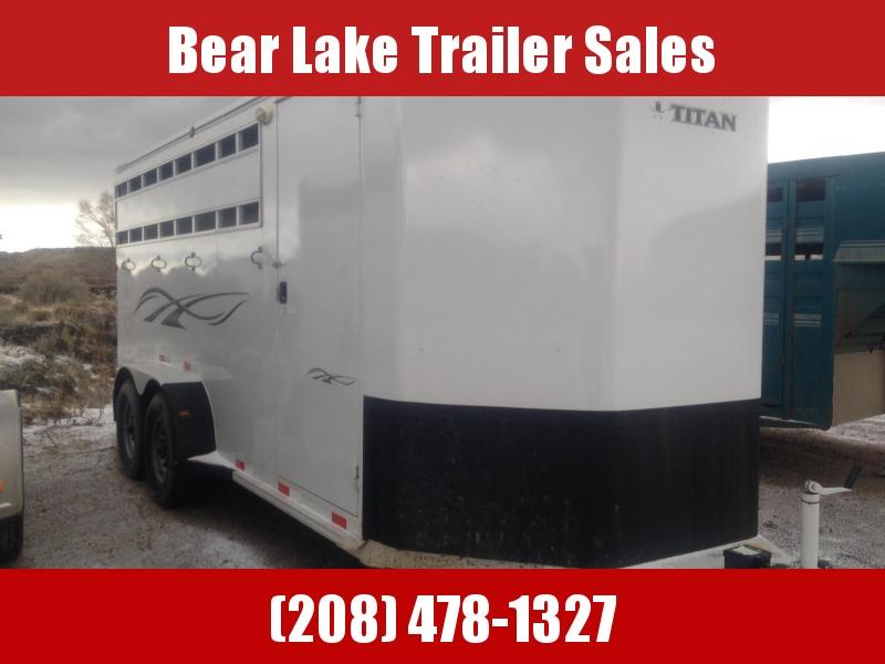 2013 Titan Classic Horse Trailer