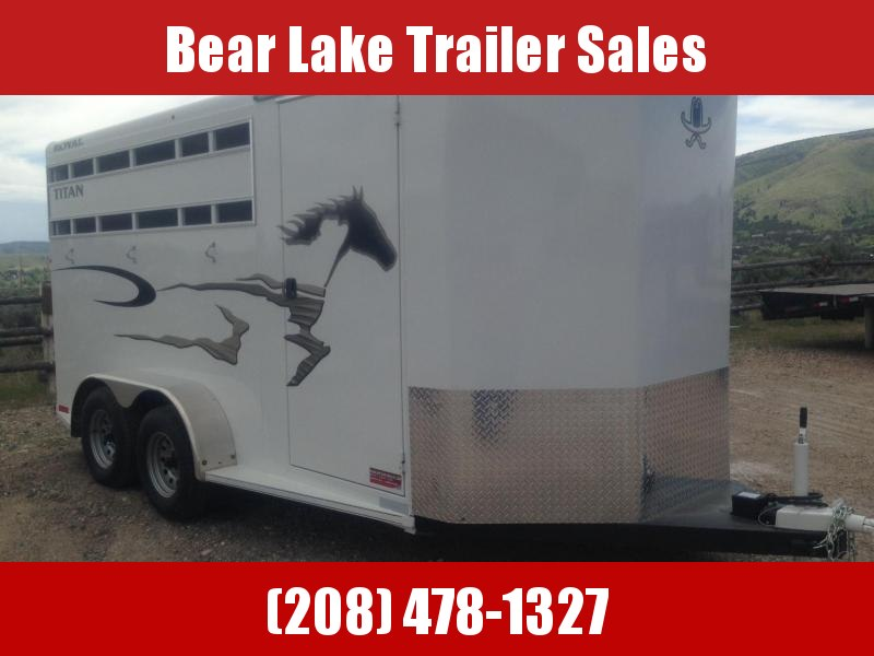 2018 Titan Royal Horse Trailer