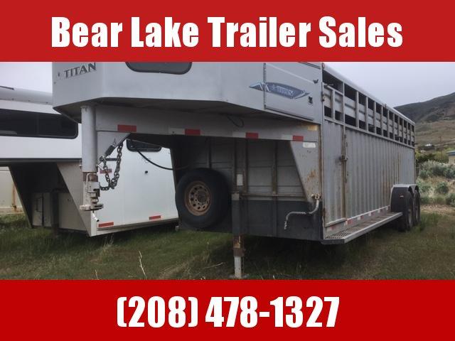 2013 Titan Trailers 22 Rancher Stock Livestock Trailer