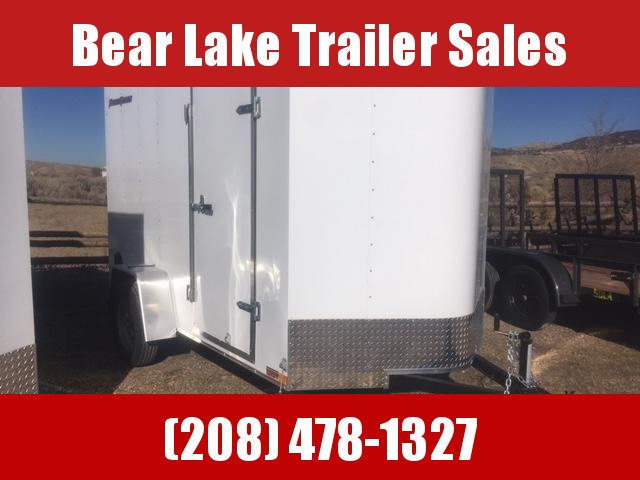 2019 Wells Cargo 6x10 Enclosed Trailer