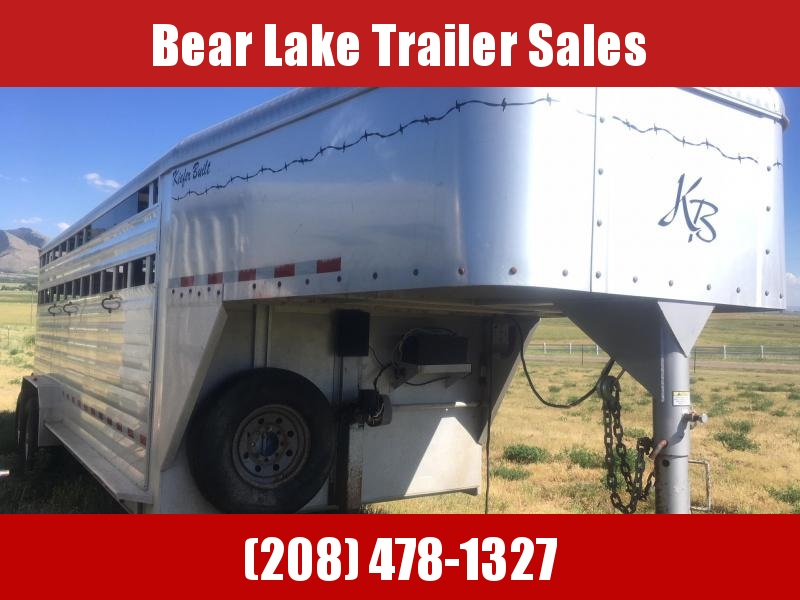 2007 Kiefer Built  Livestock Trailer