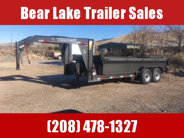 2019 Titan Smooth Sided GN Dump Trailer