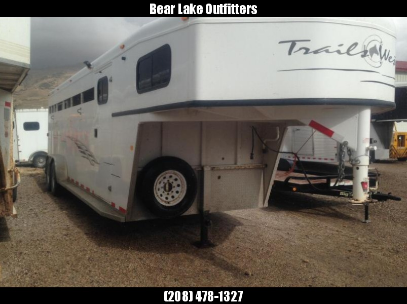 2008 Trails West Stock Combo Livestock Trailer