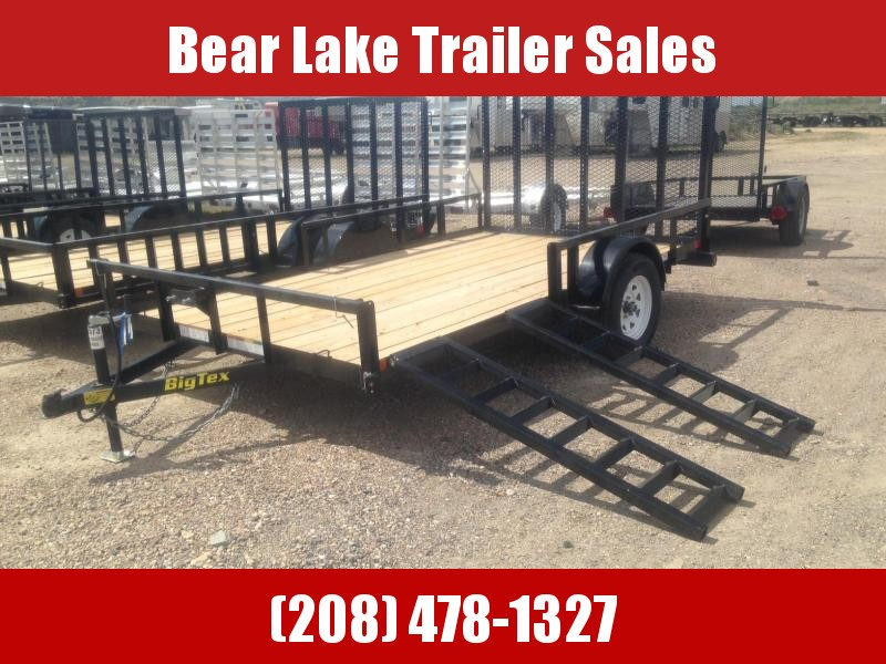 2018 Big Tex 35SA-12RSX Utility Trailer
