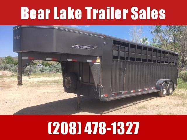 2013 Titan Trailers Rancher Stock Combo Livestock Trailer