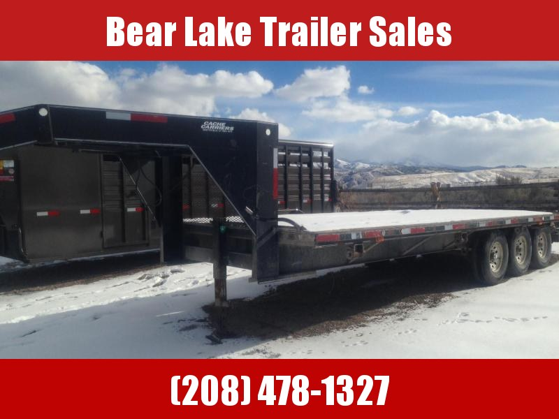 1997 Cache Carrier Flatbed Trailer