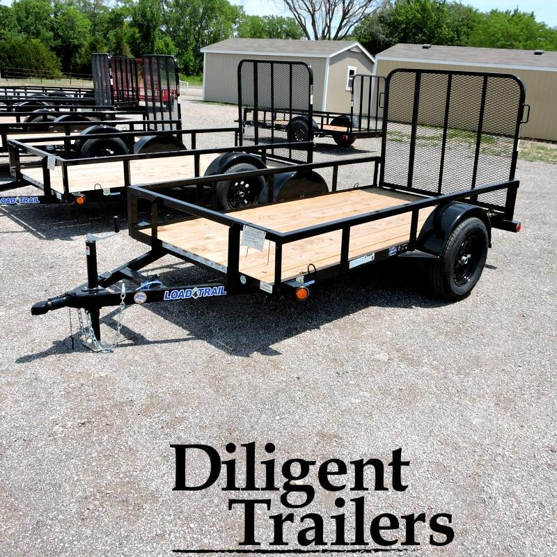 "2018 Load Trail 60"" x10' Single Axle Utility Trailer"