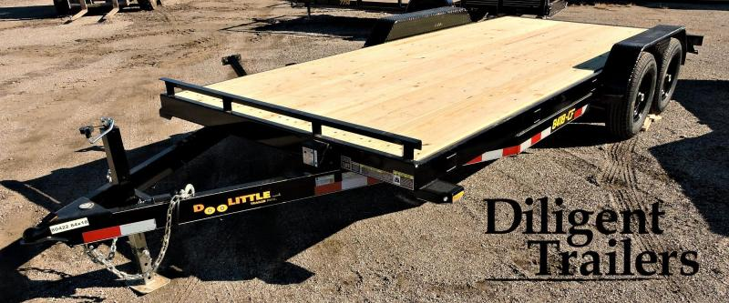 "2019 Doolittle Trailer 84"" x18' Tandem Axle Equipment Trailer"