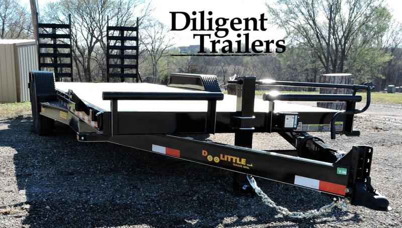 "2019 Doolittle Trailer 82""x22' Xtreme 14K Equipment Trailer"