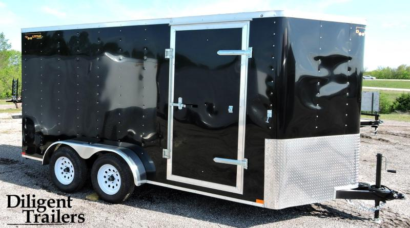 2019 Doolittle Trailer 7'x14' Tandem Axle 7K Enclosed Cargo Trailer