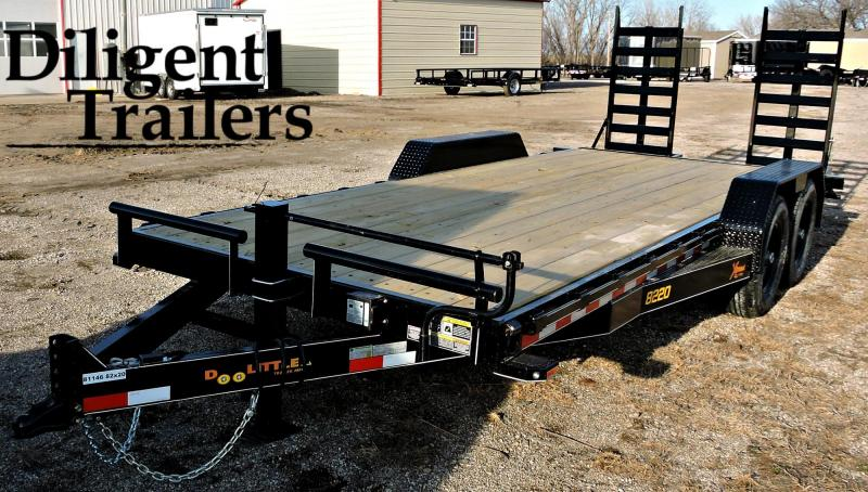 "2019 Doolittle Trailer 82""x20'  Xtreme 14K Equipment Trailer"