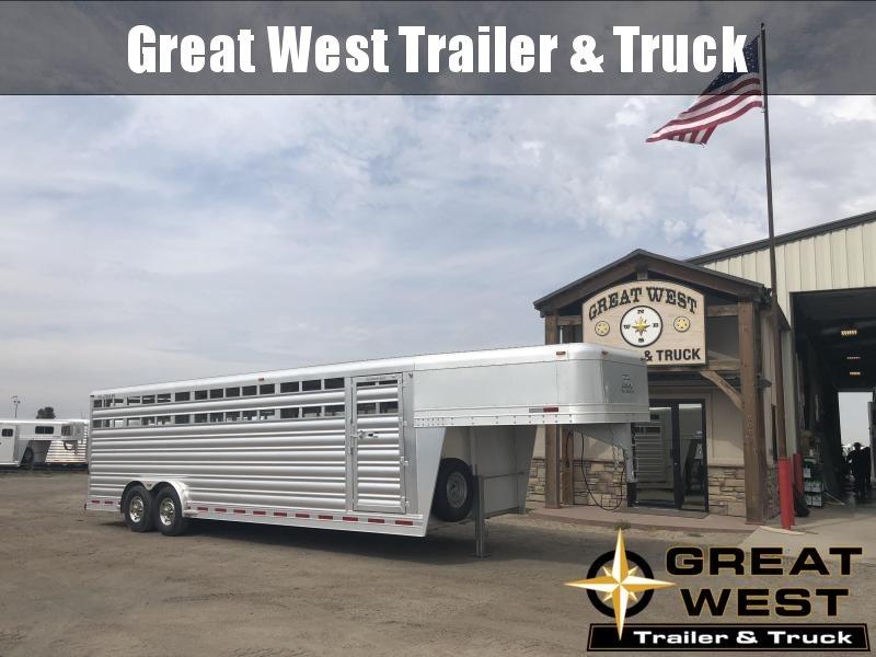 2019 Platinum Coach 26ft x 8ft  Stock Trailer Livestock Trailer