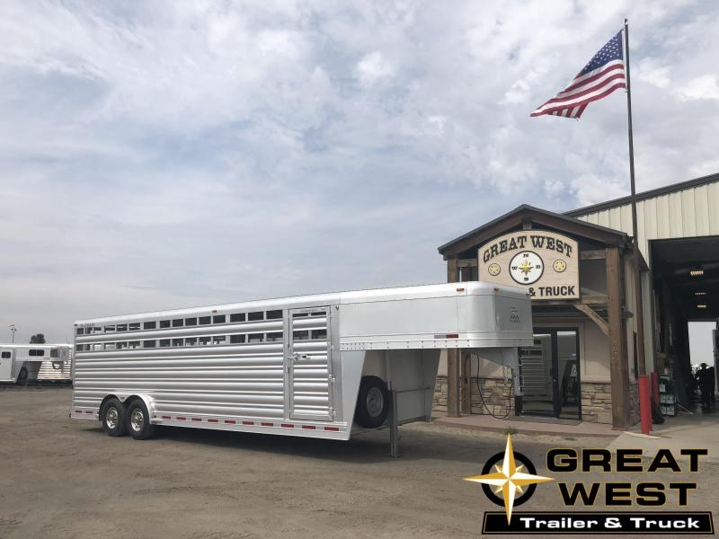 2019 Platinum Coach 26ft x 8ft  Stock Trailer Livestock Trailer