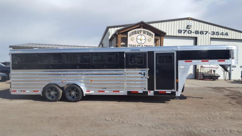 2017 Exiss Trailers 10 pen Goat and Pig show trailer Livestock Trailer