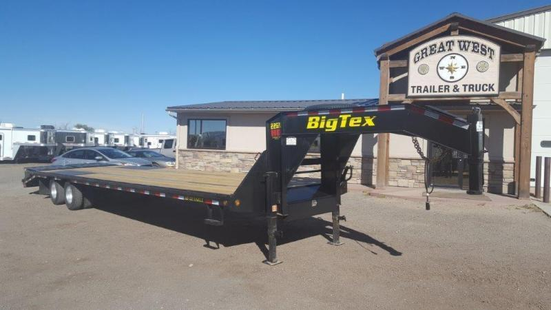 2018 Big Tex Trailers 22GN-25+5 Mega Ramps Flatbed Trailer