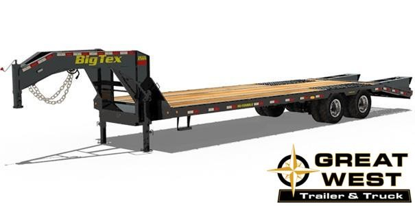 2019 Big Tex Trailers 25GN-255 Equipment Trailer