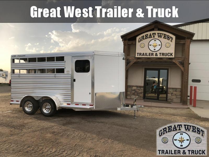 2018 CM Renegade 3 Horse Trailer